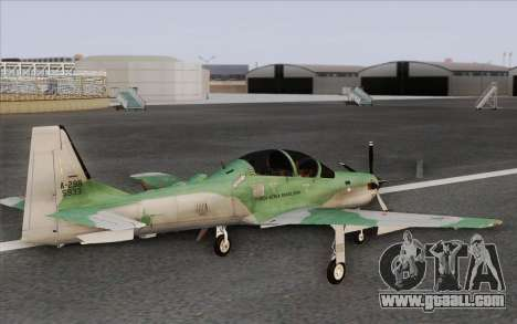 Embraer A-29B Super Tucano for GTA San Andreas
