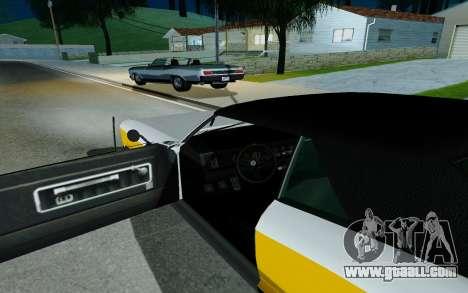 Albany Buccaneer из GTA 5 for GTA San Andreas back left view