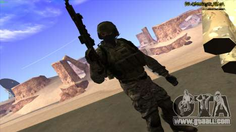 U.S. Navy Seal for GTA San Andreas sixth screenshot