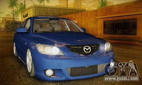 Mazda Axela Sport 2005 for GTA San Andreas