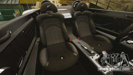 Pagani Zonda C12 S Roadster 2001 PJ1 for GTA 4 side view
