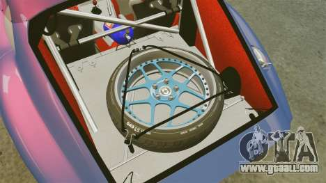 Shelby Cobra Daytona Coupe for GTA 4 side view