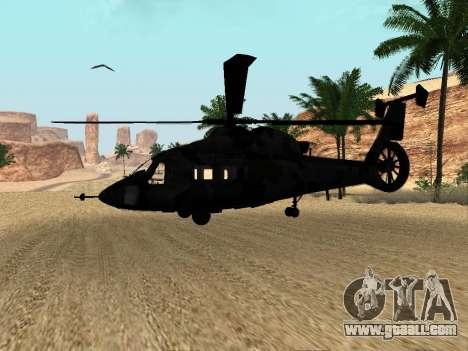 KA-60 for GTA San Andreas inner view