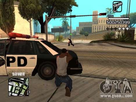 C-HUD By Kapo for GTA San Andreas eighth screenshot