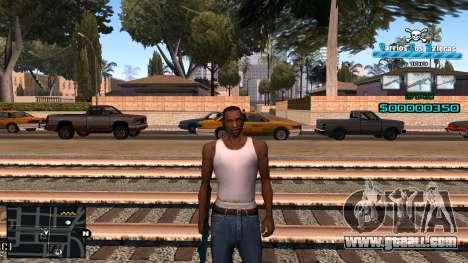 C-HUD RJ Aztecaz for GTA San Andreas
