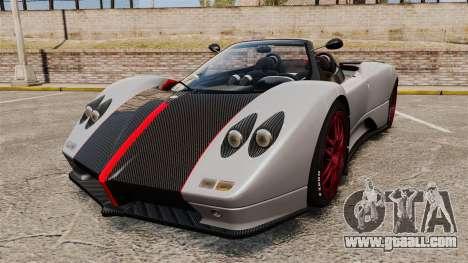 Pagani Zonda C12 S Roadster 2001 PJ5 for GTA 4