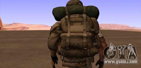Рюкзак из MОH Warfighter for GTA San Andreas forth screenshot