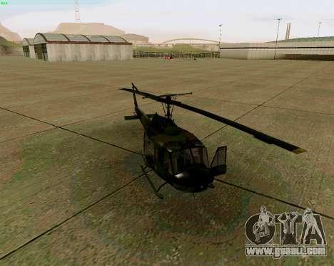 UH-1D Huey for GTA San Andreas