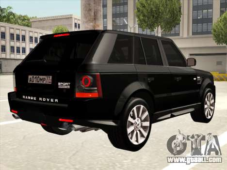Range Rover Sport for GTA San Andreas side view