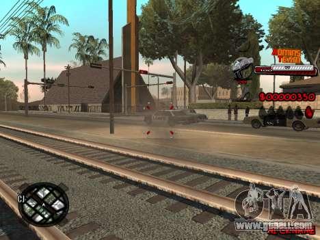 C-HUD Admins Team for GTA San Andreas forth screenshot
