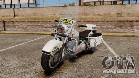 GTA V Western Motorcycle Police Bike for GTA 4