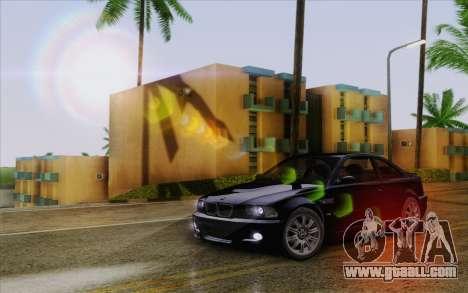 IMFX Lensflare v2 for GTA San Andreas fifth screenshot