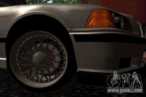 BMW M3 E36 Hellafail for GTA San Andreas right view
