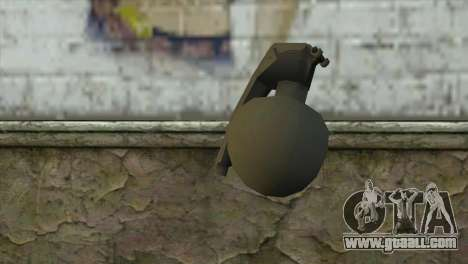 M-67 Grenade for GTA San Andreas second screenshot