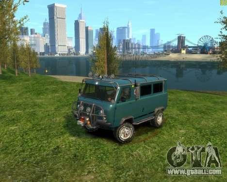 UAZ-3962 OFF ROAD for GTA 4