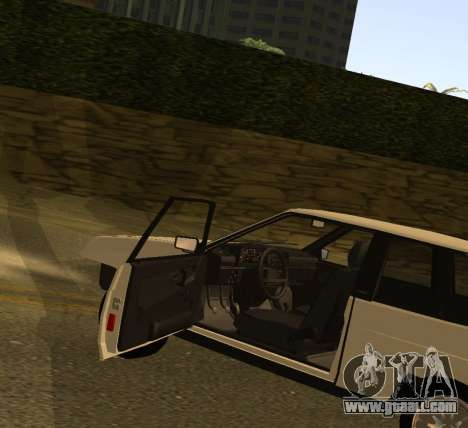 ВАЗ 2108 GVR Version 1.2 for GTA San Andreas right view