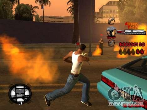 C-HUD Admins Team for GTA San Andreas tenth screenshot