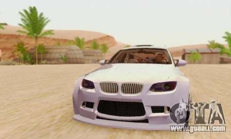 BMW M3 E92 SHD Tuning for GTA San Andreas left view