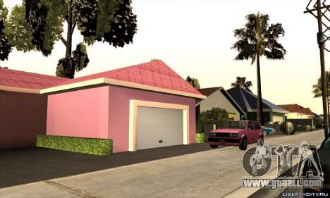 New house Milli for GTA San Andreas second screenshot