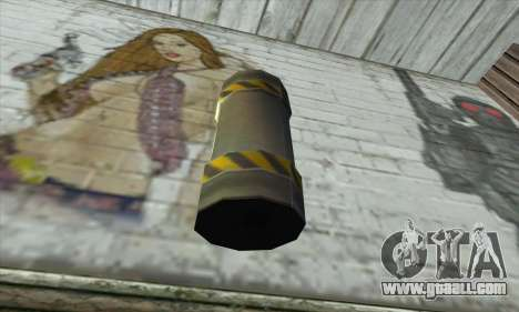 Garnet from Duke Nukem for GTA San Andreas second screenshot