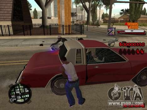 C-HUD Admins Team for GTA San Andreas fifth screenshot