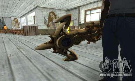 Dragon Nest Warrior Marine Sword for GTA San Andreas third screenshot