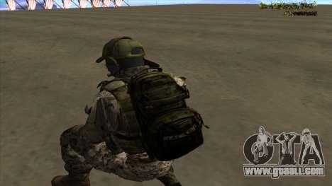 U.S. Navy Seal for GTA San Andreas ninth screenshot