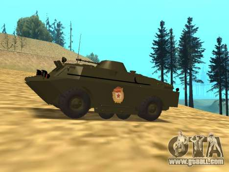 Guards BRDM-2 for GTA San Andreas left view