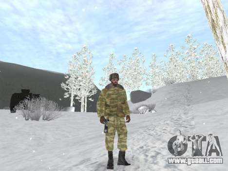 Pak Russian army service for GTA San Andreas fifth screenshot