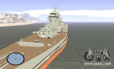 HMS Prince of Wales for GTA San Andreas
