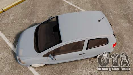 Volkswagen Fox for GTA 4 right view