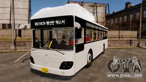 Daewoo BS110CN for GTA 4