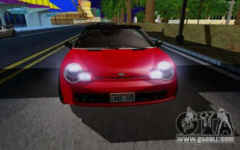 GTA 5 Weeny Issi V1.0 for GTA San Andreas left view