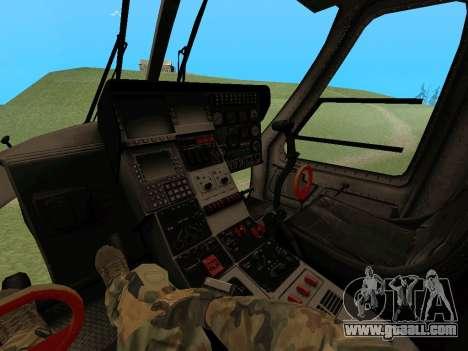 KA-60 for GTA San Andreas left view