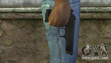 M9 Pistol for GTA San Andreas third screenshot