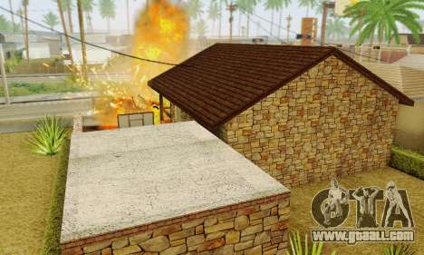 New house big Smoke for GTA San Andreas eighth screenshot