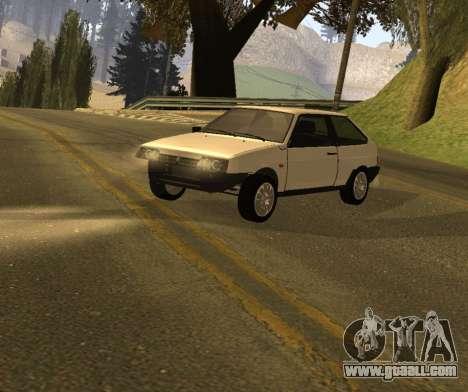ВАЗ 2108 GVR Version 1.2 for GTA San Andreas