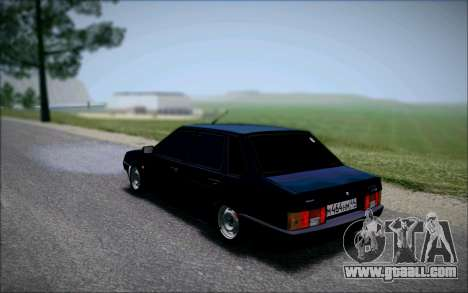 VAZ 21099 the Bandit for GTA San Andreas left view