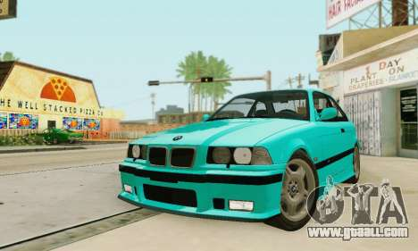 BMW E36 M3 1997 Stock for GTA San Andreas side view