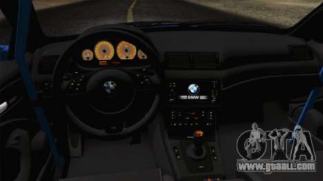 BMW M3 E46 GTR 2005 for GTA San Andreas right view