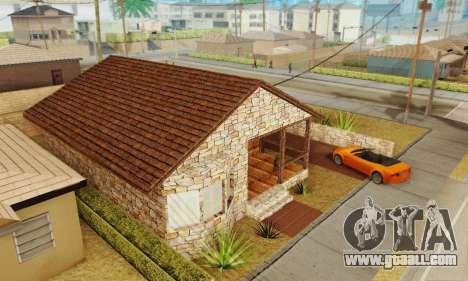 New house big Smoke for GTA San Andreas third screenshot