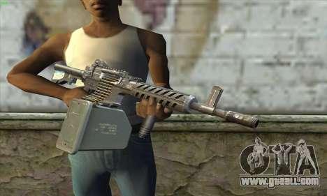 M4 Gunner for GTA San Andreas