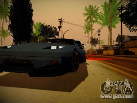 ENBSeries for weak PC by Makar_SmW86 for GTA San Andreas forth screenshot