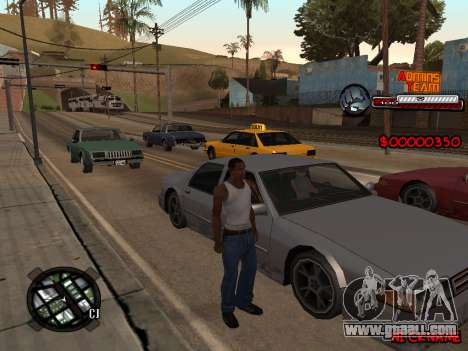 C-HUD Admins Team for GTA San Andreas second screenshot