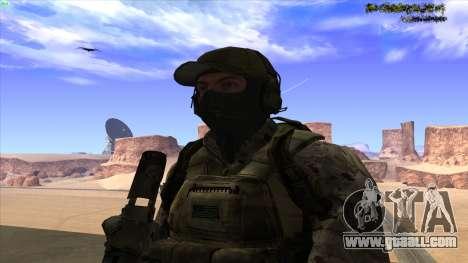 U.S. Navy Seal for GTA San Andreas fifth screenshot