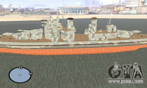 HMS Prince of Wales for GTA San Andreas second screenshot