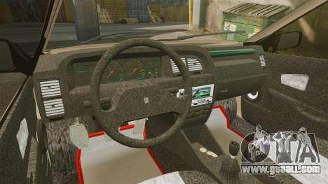 Citroen Xantia for GTA 4 back view