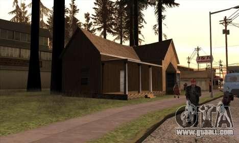 New house of Sijia in Angel Pine for GTA San Andreas third screenshot