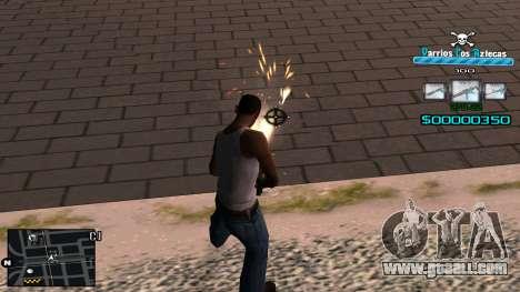 C-HUD RJ Aztecaz for GTA San Andreas third screenshot