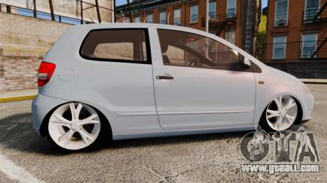 Volkswagen Fox for GTA 4 left view